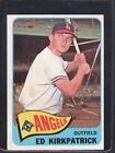 1965 Topps Ed Kirkpatrick #393 Baseball Card