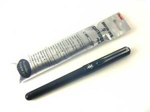 Japan Version Pentel Refillable Pocket Brush Pen 4 Black