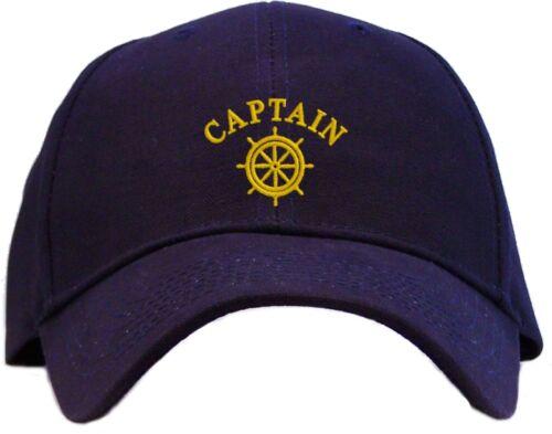 Capitaine de navires roue Brodé Casquette De Baseball-Disponible En 7 Couleurs-Hat