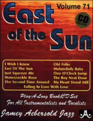 Jamey Aebersold Volume 71 - East of the Sun (Includes Play-Along CD)