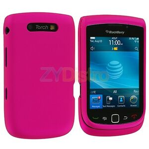 Pink-Hard-Skin-Case-Cover-Accessory-for-Blackberry-Torch-9800-9810