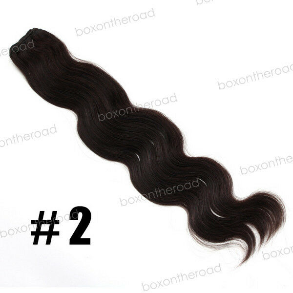 100% Remy Brazilian Body Wave Curly Human Hair Weave Extension weft Bundle 100g