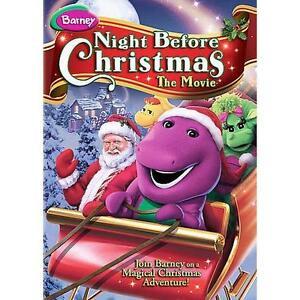 Barney Night Before Christmas Dvd 2008 For Sale Online Ebay