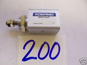 Koganei NDAS16x5 Air Cylinder 16mm Bore 5mm Stroke