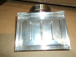 POTTERY BARN PIEDMONT SOAP DISH HOLDER SATIN NICK BRAND NEW IN BOX