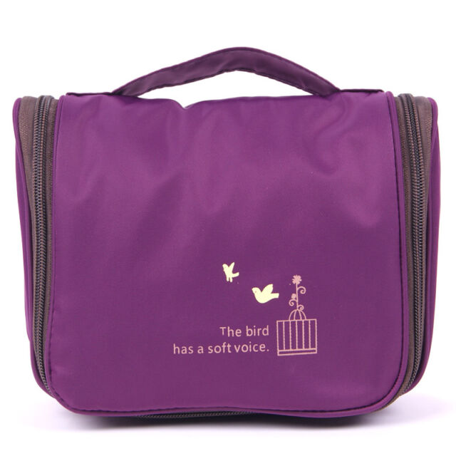 Travel Toiletry Bag Hanging Organizer Skincare Make up Cosmetic Bag Wallet