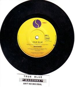 MADONNA-True-Blue-7-45-rpm-vinyl-record-juke-box-title-strip