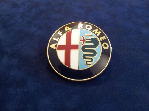 fregio stemma logo ALFA ROMEO 166 75 156 anteriore front  emblem Firmenzeichen