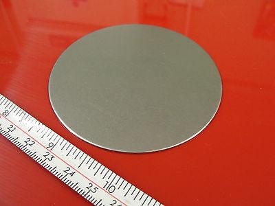 2 x 75 mm Diameter Pressed Sheet Metal Discs, Power Press Fly Press  Engraving