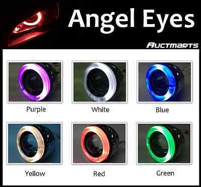 Universal HID Xenon Projector Kit Angel Eyes Halo Ninja ZX 6R 10R 12R 250R G2