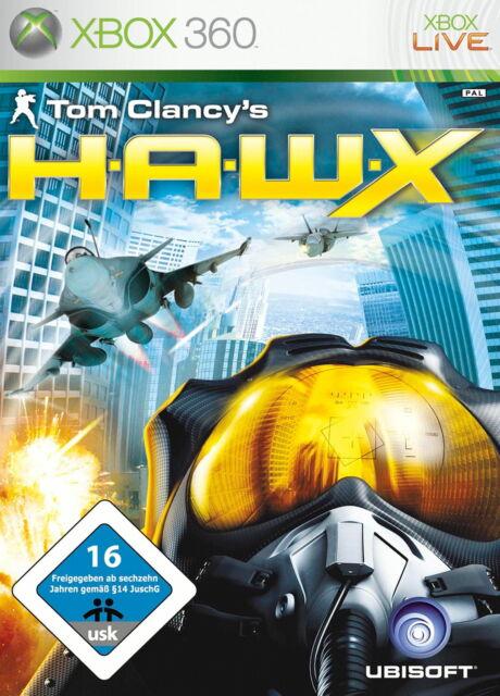 Tom Clancy's H.A.W.X. (Microsoft Xbox 360, 2009, DVD-Box)