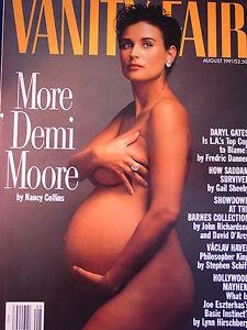 moore cover Demi pregnant magazine