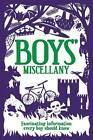 Boys' Miscellany by Martin Oliver (Hardback, 2012)