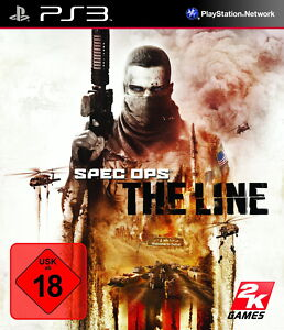 PS3 / Sony Playstation 3 Spiel - Spec Ops: The Line (mit OVP)(USK18)