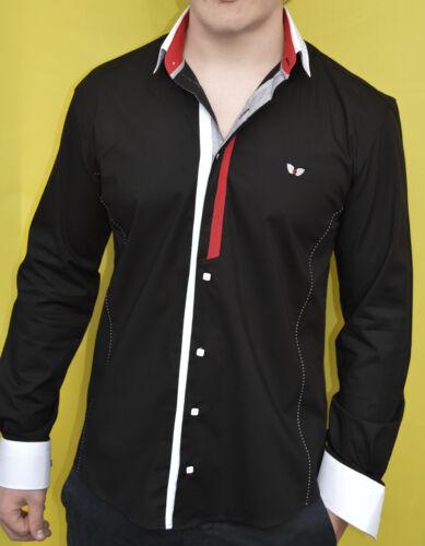 Designer Camicia di carisma in 4 colori UNI crm8036 Nuovissima!!