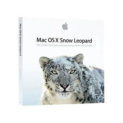 Apple X Snow Leopard OS X 10.6.3  Full Version Brand New Sealed MC573Z//A