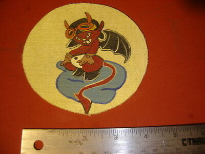 WWII USMC MARINE AIR GROUP 23 DEVIL BABY    PATCH
