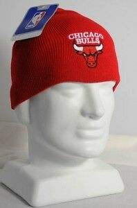 Official-NBA-Bulls-Knit-Cap-Hat-Skull-Red-New-Tags