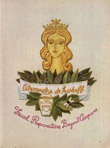 1957-Alexandra-de-Markoff-Facial-Elixir-Vintage-Bottle-PRINT-AD
