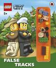 LEGO City: False Tracks Storybook with Minifigures and Accessories by Penguin Books Ltd (Hardback, 2013)