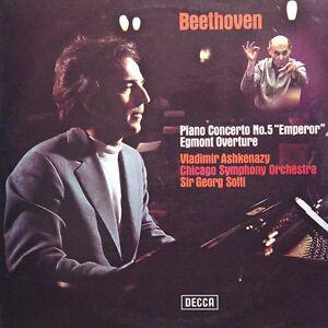 BEETHOVEN-Piano-Concerto-N-5-Ashkenazy-Solti-UK-Press-Decca-SXL-6655-LP