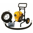 "Steel Dragon Tools SDT 23712 K 1500 A Snake 8"" Sewer Pipe Drain Cleaning Machine fits Ridgid ®"