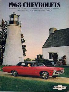 1968-CHEVROLET-Range-US-Brochure-IMPALA-CORVETTE-SS396-CHEVELLE-NOVA-CAMARO-etc