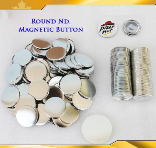 New Pro 14Kind 100 Sets Nd. Magnet Badge Button Parts for Button Maker
