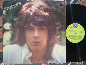 RICK-SPRINGFIELD-Beginnings-1972-Oz-Pop-Rock-USA-Capitol-Pressing-LP-Zoot