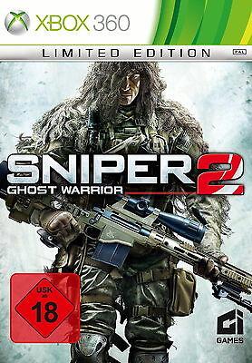 Sniper: Ghost Warrior 2 - Limited Edition (Xbox 360 Spiel, 2013, DVD-Box)