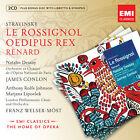 Igor Stravinsky: Le Rossignol; Renard; Oedipus rex (2010)
