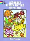 Alphabet Hidden Picture Coloring Book by Anna Pomaska (Paperback, 1993)
