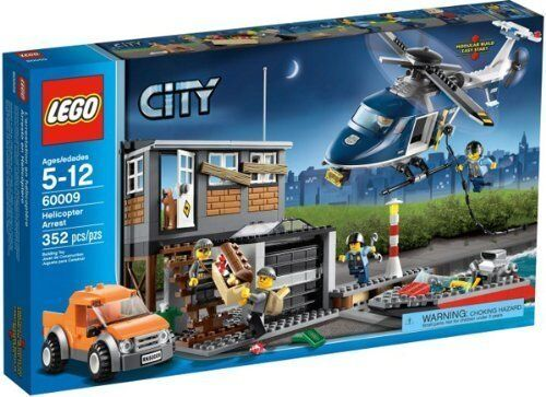 LEGO City Helicopter Arrest (60009) NEW
