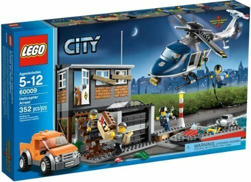 LEGO City Helicopter Arrest 60009 NEW!