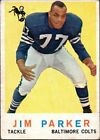 1959 Topps Jim Parker Baltimore Colts #132 Football Card