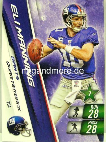 Adrenalyn XL NFL-New York Giants-mapa escoger