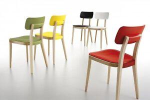 Sedie In Legno Colorate : Sedia infiniti mod porta venezia chair design legno e