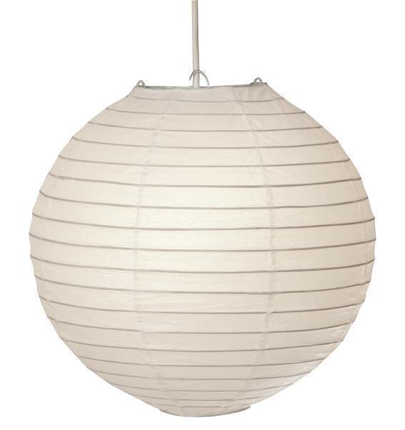 Seletti Globe Paper Lantern Ceiling Light Shade Pendant White 90cm