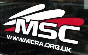165mm-16-5cm-Official-Micra-Sports-Club-Sticker-JDM-For-Nissan-K10-K11-K12