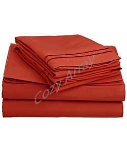 ULTA-SOFT-DEEP-POCKET-BED-SHEET-SET-STYLISH-SUMMER-COLORS-All-Sizes-Avail