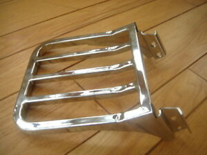 NEW-HARLEY-DYNA-LOW-RIDER-luggage-rack-rear-carrier-for-BACKREST-SISSY-BAR-FXD