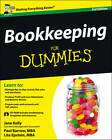Bookkeeping For Dummies by Lita Epstein, Jane Kelly, Paul Barrow (Paperback, 2012)