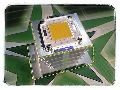 Alu Kühlkörper Heat Sink für 10 W - 100 W Watt LED Chip DIY Fluter SMD Flutlicht