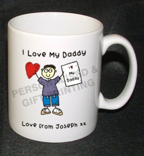 PERSONALISED DAD DADDY GRANDAD UNCLE BROTHER BIRTHDAY FATHER/'S DAY MUG GIFT IDEA