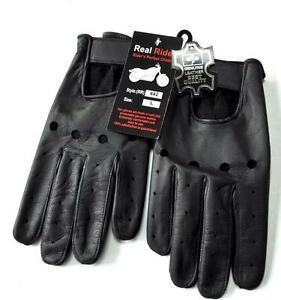 GENUINE-LEATHER-DRIVING-GLOVES-ALL-SEASONS-MEDIUM-LARGE-XL-XXL