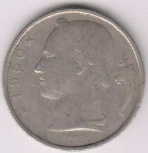 1950-5FR-Coin-Belgium-We-Combine-Shipping-5-for-1-50-F57