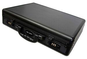 Brand-New-Quality-Aluminium-Brief-Case-Equipment-Tools-Case-Box-Large-Size-Black
