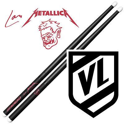 AHEAD Lars Ulrich SCARY GUY Drumsticks Light LU-SGL - RED logo drum sticks NEW