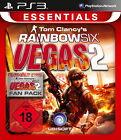Tom Clancy's Rainbow Six: Vegas 2 -- Complete Edition (Essentials) (Sony PlayStation 3, 2012)
