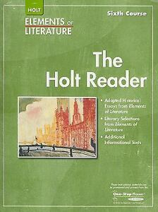 Holt-Elements-of-Literature-Reader-Sixth-Course-2007-Paperback